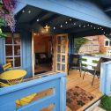Customer Story: AJ, Kris & Their Dreamy Blue Haven Studio Lodge in London