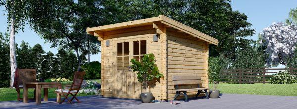 Garden Log Cabin MALTA 3m x 3m (10x10 ft) 34 mm