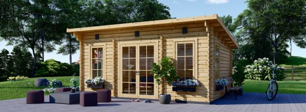 Insulated Garden Room ESSEX 5m x 4m (16x13 ft) Twin Skin
