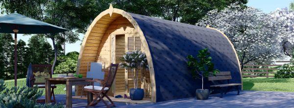 Camping Pod BRETA 3m x 6m (10x20 ft) 46 mm