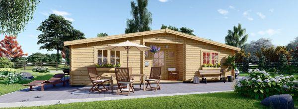 Log Cabin FILL (44 mm), 60 m²