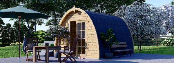 Camping Pod BRETA 3m x 4m (10x13 ft) 28 mm