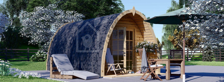 Camping Pod BRETA 3m x 5m (10x16 ft) 28 mm visualization 1