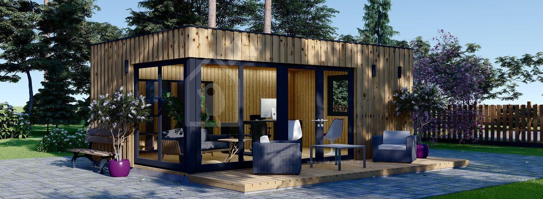 Garden Room PREMIUM (SIP Panels), 6x4 m (20'x13'), 24 m² visualization 1