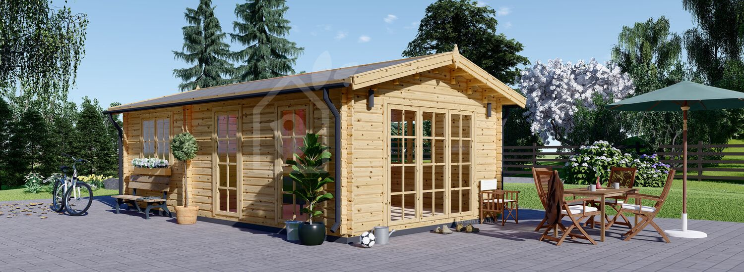 Granny Annexe MAX 4.2m x 7.5m (14x25 ft) 44 mm visualization 1