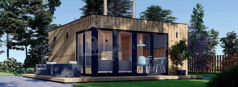 Granny Annexe PREMIUM (SIP Panels), 6x5 m (20'x16'), 30 m² visualization 1
