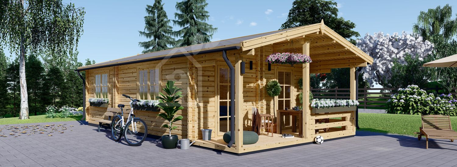 Granny Annexe ARGO 5m x 8.7m (16x29 ft) 66 mm visualization 1