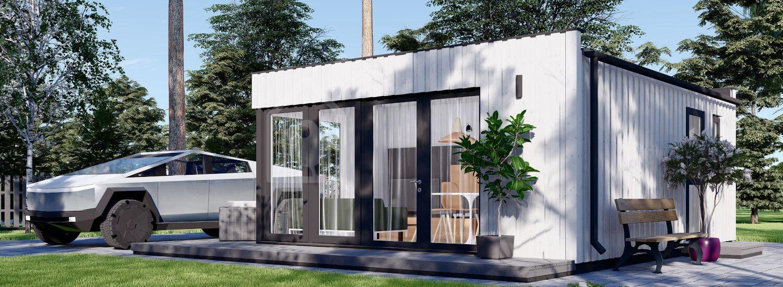 Granny Annexe ELON (SIP Panels), 6x5 m (20'x16'), 30 m² visualization 1