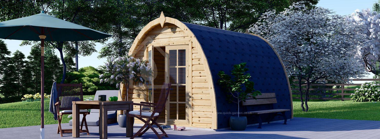 Camping Pod BRETA 3m x 4m (10x13 ft) 28 mm visualization 1