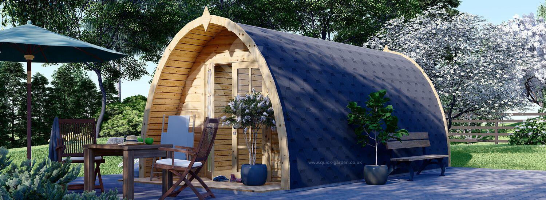 Camping Pod BRETA 3m x 6m (10x20 ft) 28 mm visualization 1