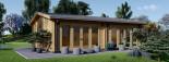 Garden Studio MARINA 8m x 6m (26x20 ft) 44 mm visualization 3