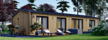 Insulated Granny Annexe NICOLE M 12.7m x 6.15m (42' x 20') visualization 4