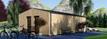 Garden Studio ANNA 7.5m x 5m (25x16 ft) 44 mm visualization 5