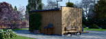 SIPS Garden Room PREMIUM 6m x 3m (20x10 ft) visualization 7