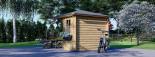 Summer House AIDA 3m x 3m (10x10 ft) 28 mm visualization 4