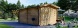 Log Cabin STRONGHOLD 3m x 6m (10x20 ft) 44 mm visualization 5