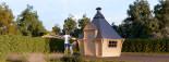 BBQ Hut 3.3m x 2.8m (11x9 ft) 44 mm 7 m² visualization 1