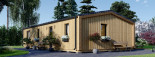 Insulated Granny Annexe NICOLE M 12.7m x 6.15m (42' x 20') visualization 6