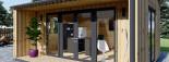 Insulated Garden Office TINA 5.5m x 5m (18x16 ft) Twin Skin visualization 8