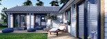 Insulated Residential Log Cabin PAULA 14.5m x 13m (48x43 ft) Building Reg Friendly visualization 9