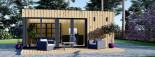 SIPS Garden Room PREMIUM 6m x 4m (20x13 ft) visualization 3