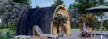 Camping Pod BRETA 3m x 4m (10x13 ft) 28 mm visualization 3