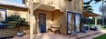 Log Cabin House HOLLAND PLUS 13.5m x 8.5m (44x28 ft) 66 mm visualization 9