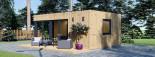 SIPS Garden Room PREMIUM 6m x 4m (20x13 ft) visualization 5