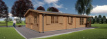 Insulated Residential Cabin DONNA 12.5m x 6m (41x20 ft) Building Reg Friendly visualization 6