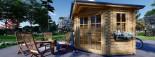 Summer House AIDA 3m x 3m (10x10 ft) 28 mm visualization 8