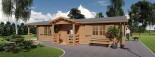 Insulated Residential Cabin DONNA 12.5m x 6m (41x20 ft) Building Reg Friendly visualization 7