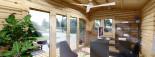 Insulated Garden Office TINA 5.5m x 5m (18x16 ft) Twin Skin visualization 10