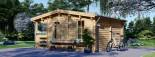 Log Cabin ROYAL 5m x 5m (16x17 ft) 44 mm visualization 6