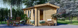 Garden Room POOLHOUSE 4m x 3m (13x10 ft) 44 mm visualization 6
