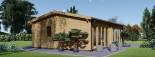 Insulated Garden Studio MARINA 8m x 6m (26x20 ft) Building Reg Friendly visualization 4