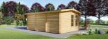 Insulated Garden Room DEVON 6m x 4m (20x13 ft) Twin Skin visualization 3
