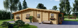 Insulated Log Cabin House RIVIERA 13m x 9m (43x30 ft) Building Reg Friendly visualization 7