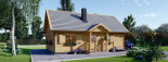 Insulated Residential Cabin EMMA 8m x 5.7m (26x19 ft) Building Reg Friendly visualization 6