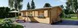Insulated Residential Cabin HYMER 5.2m x 10.2m (17x34 ft) Building Reg Friendly visualization 4