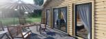Insulated Residential Log Cabin GRETA 9m x 6m (30x20 ft) Building Reg Friendly visualization 10