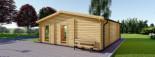 Insulated Garden Studio MILA 8m x 7m (26x23 ft) Building Reg Friendly visualization 4