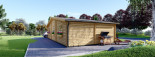 Residential Log Cabin FILL 10.5m x 6m (35x20 ft) 44 mm visualization 5