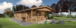 Insulated Residential Cabin DONNA 12.5m x 6m (41x20 ft) Building Reg Friendly visualization 5