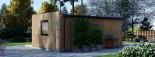 SIPS Garden Room PREMIUM 6m x 4m (20x13 ft) visualization 6