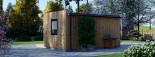 SIPS Garden Room PREMIUM 6m x 3m (20x10 ft) visualization 6