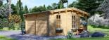 Log Cabin ROYAL 5m x 5m (16x17 ft) 44 mm visualization 5