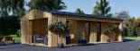 Garden Studio ANNA 7.5m x 5m (25x16 ft) 44 mm visualization 1
