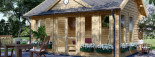 Insulated Garden Room CLOCKHOUSE 5.5m x 4m (18x13 ft) Twin Skin visualization 7