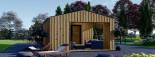 Garden Studio ANNA 7.5m x 5m (25x16 ft) 44 mm visualization 7