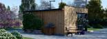 SIPS Garden Room PREMIUM 6m x 4m (20x13 ft) visualization 7